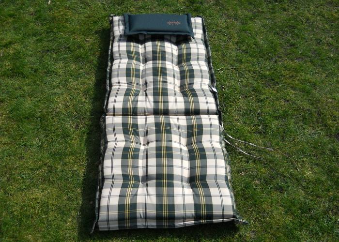 6 auflagen f r hochlehner sitzauflage gartenstuhl polster von sun promo ebay. Black Bedroom Furniture Sets. Home Design Ideas